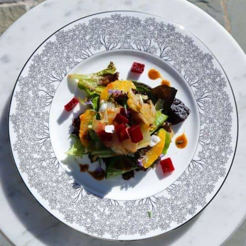 photo of braised endive salad