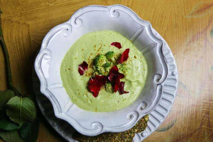 detox broccoli soup, Raw Broccoli Soup Recipe for Detox in 5 Minutes