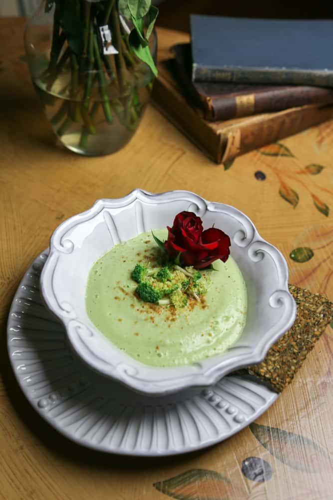 raw vegan broccoli soup recipe
