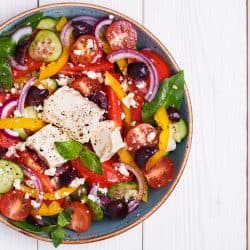 , Cleansing Friendly Greek Salad