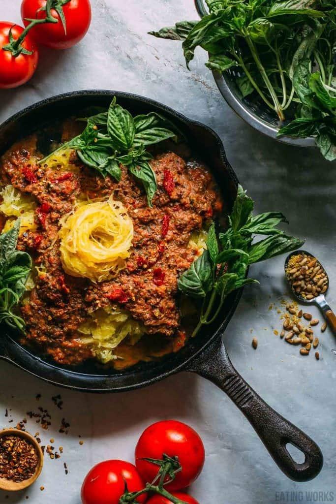 grain free vegan dinner recipe