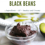 Vegan refried black beans, Vegan Refried Black Beans