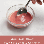 pomegranate vinaigrette pin