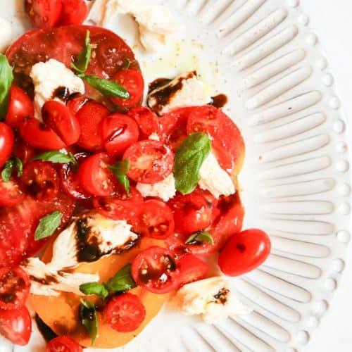 Caprese Salad Keto, Caprese Salad Keto – Low Carb