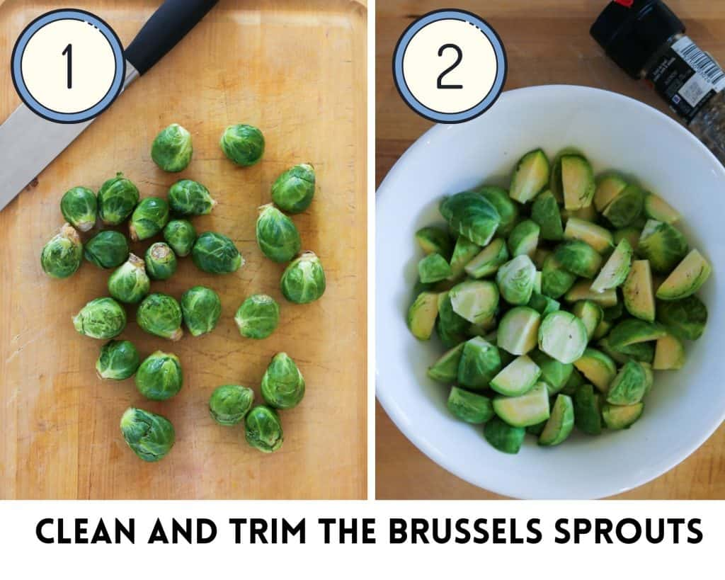 , Garlic Butter Brussels Sprouts